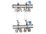 FS011B 锻造一体分集水器B型(活接式)