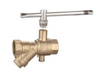 QF033 锁闭测温过滤球阀