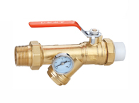 QF026 测温(测压)双活接连体过滤阀